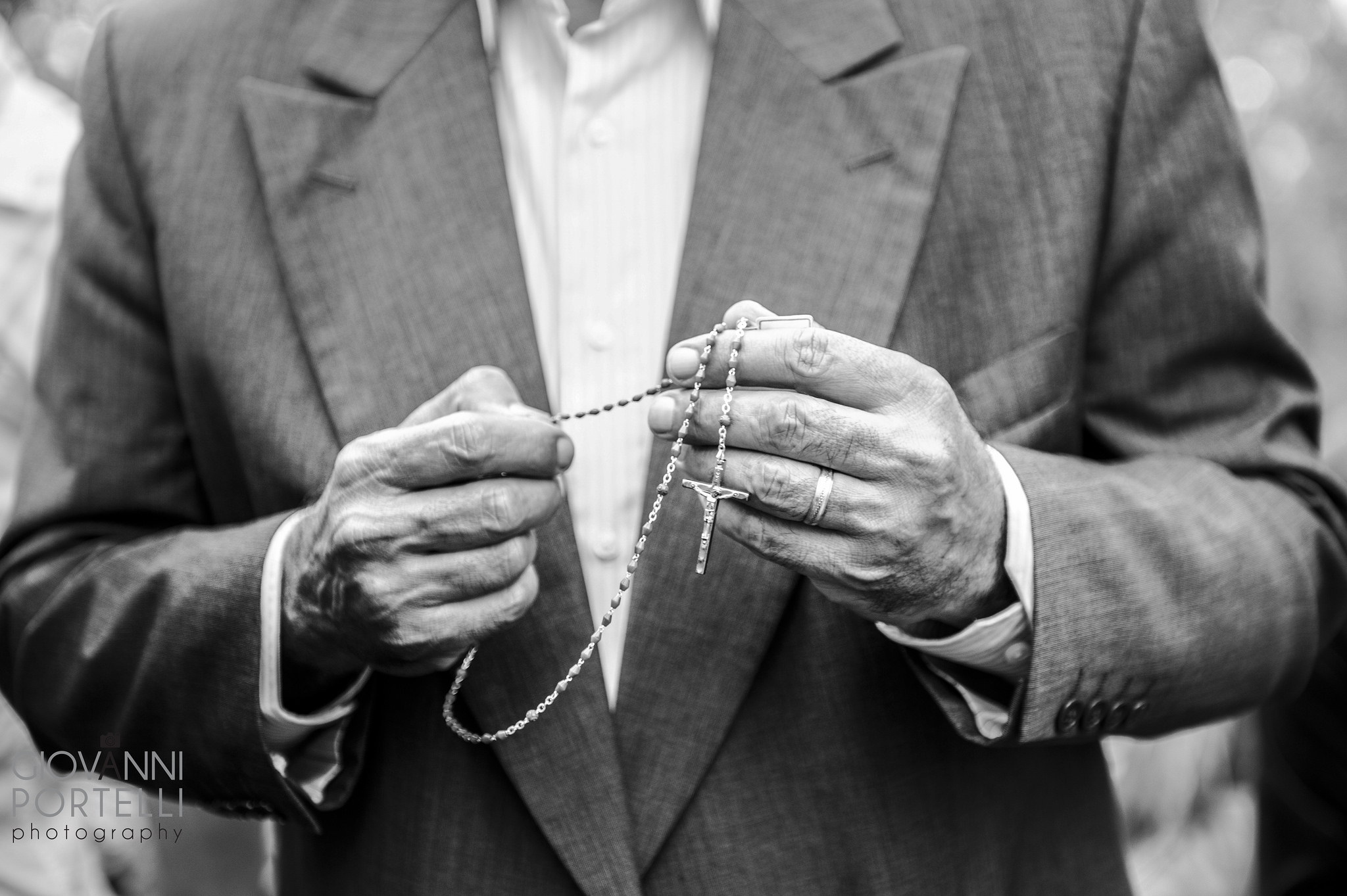 Man WIth Rosary