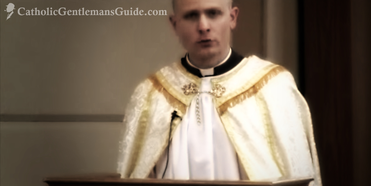 Catholic Masculinity - Fr John Hollowell